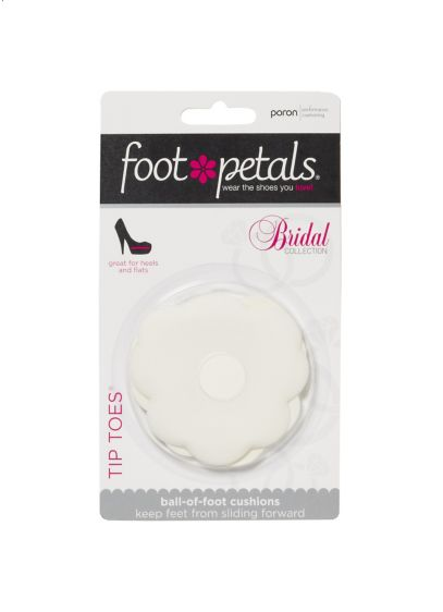 Footpetals White (Foot Petals Tip Toes)