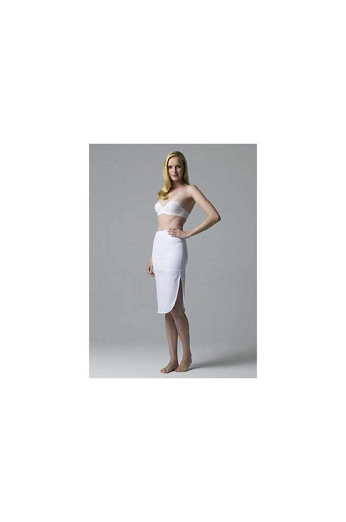 Dominique Tea Length Control Slip - Tea length control slip that features a no
