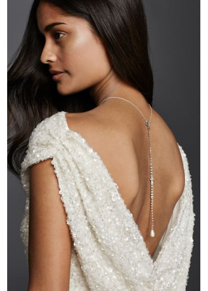 Pearl Back Necklace Extender 73691N