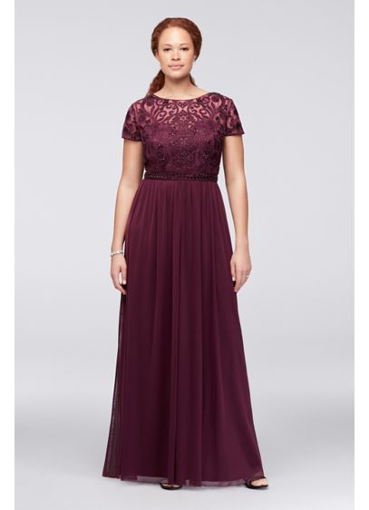 Long A-Line Formal Wedding Dress - Cachet