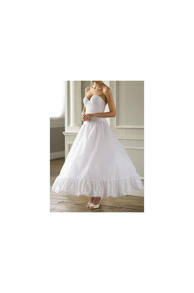 Full Bridal Ball Gown Slip - This full slip enhances ball gown silhouettes and