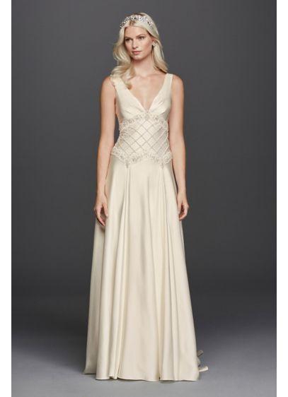 Long A-Line Vintage Wedding Dress - Wonder by Jenny Packham