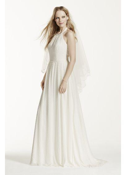 Long A-Line Wedding Dress - Galina