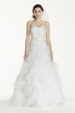 White Organza Wedding Dresses