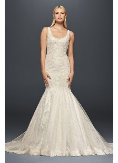 Truly zac posen scoop neck petite wedding dress david 39 s for Zac posen wedding dress price