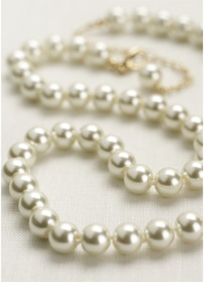 Classic Short Pearl Necklace - Wedding Accessories