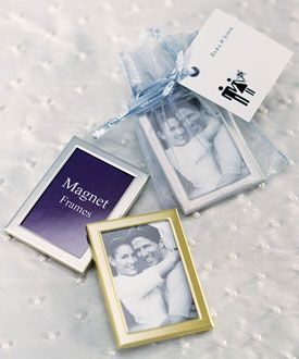 Magnet Back Mini Photo Frames - Pack of - Miniature photo frames are very popular at today's