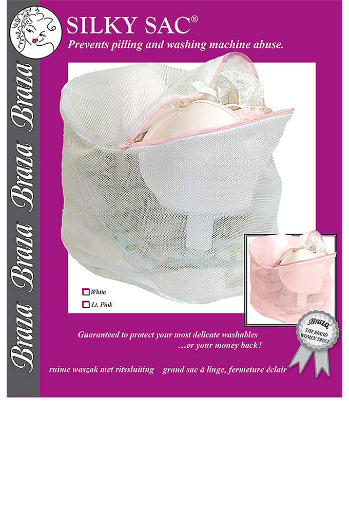 Silky Sac - This lingerie wash bag is made with a