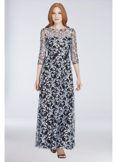 Long 0 3/4 Sleeves Formal Dresses Dress - Tahari ASL