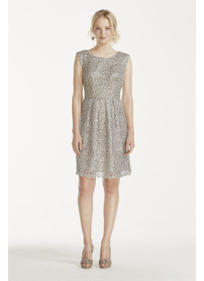 Short A-Line Cap Sleeves Cocktail and Party Dress - Decode 18