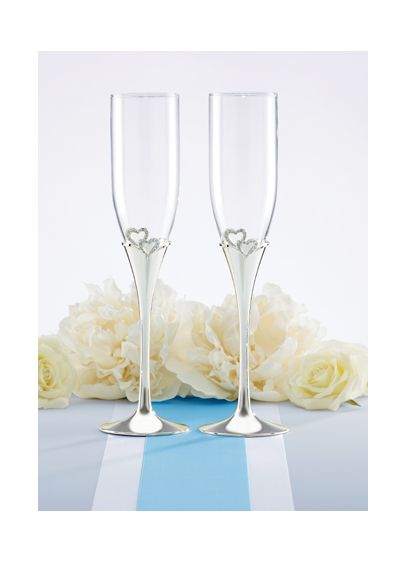 DB Exclusive Lenox Eternal Love Flute Pair - Wedding Gifts & Decorations