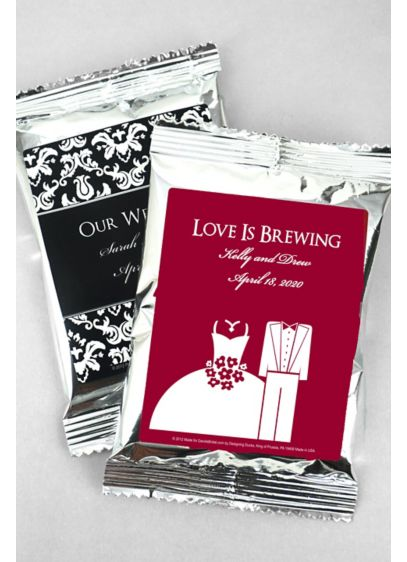 DB Exclusive Personalized Wedding Coffee Favors - Wedding Gifts & Decorations