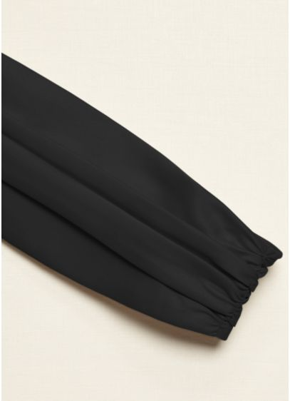 Satin Ruched Wide Sash - Wedding Accessories