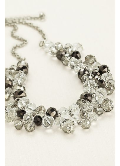 Crystal Bead Necklace - Wedding Accessories