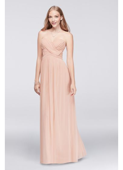 Long A-Line Strapless Mother and Special Guest Dress -