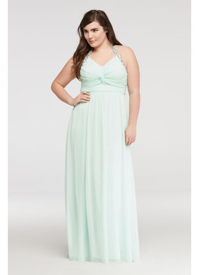 Long Sheath Tank Guest of Wedding Dress -