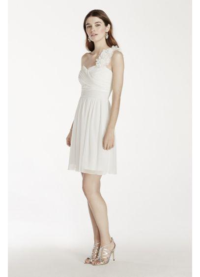 Short Sheath One Shoulder Guest of Wedding Dress - City Triangles