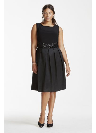 Short A-Line Tank Graduation Dress - RM Richards