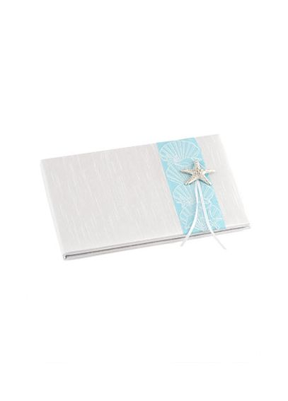 Seaside Allure Traditional Guest Book 8496