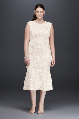 Js Collections Plus Size Cocktail Dresses