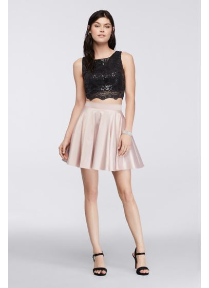 Short Ballgown Tank Cocktail and Party Dress -