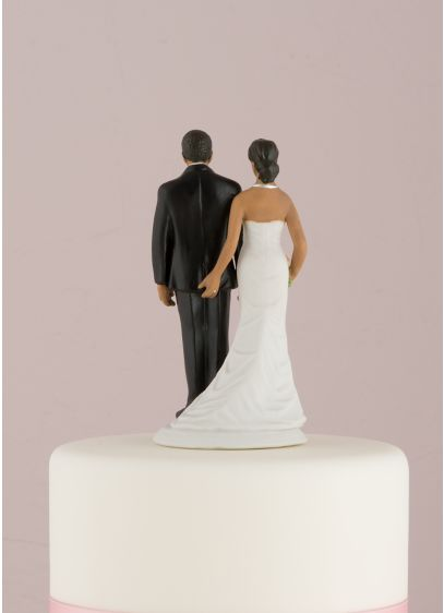 The Love Pinch Bridal Couple Cake Topper - Wedding Gifts & Decorations