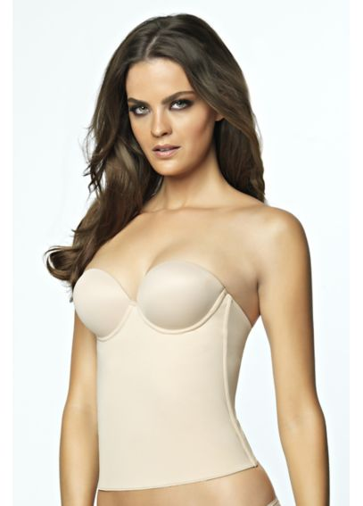 Bustier with Smooth Thin Bodice 8704