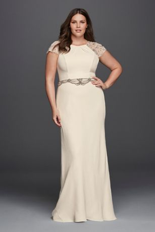Plus Size Wedding Dresses for Less