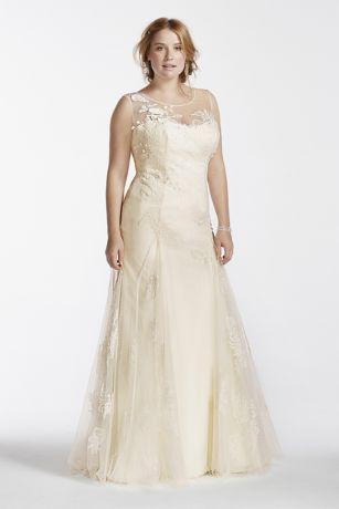 Plus Size Beaded Wedding Dresses