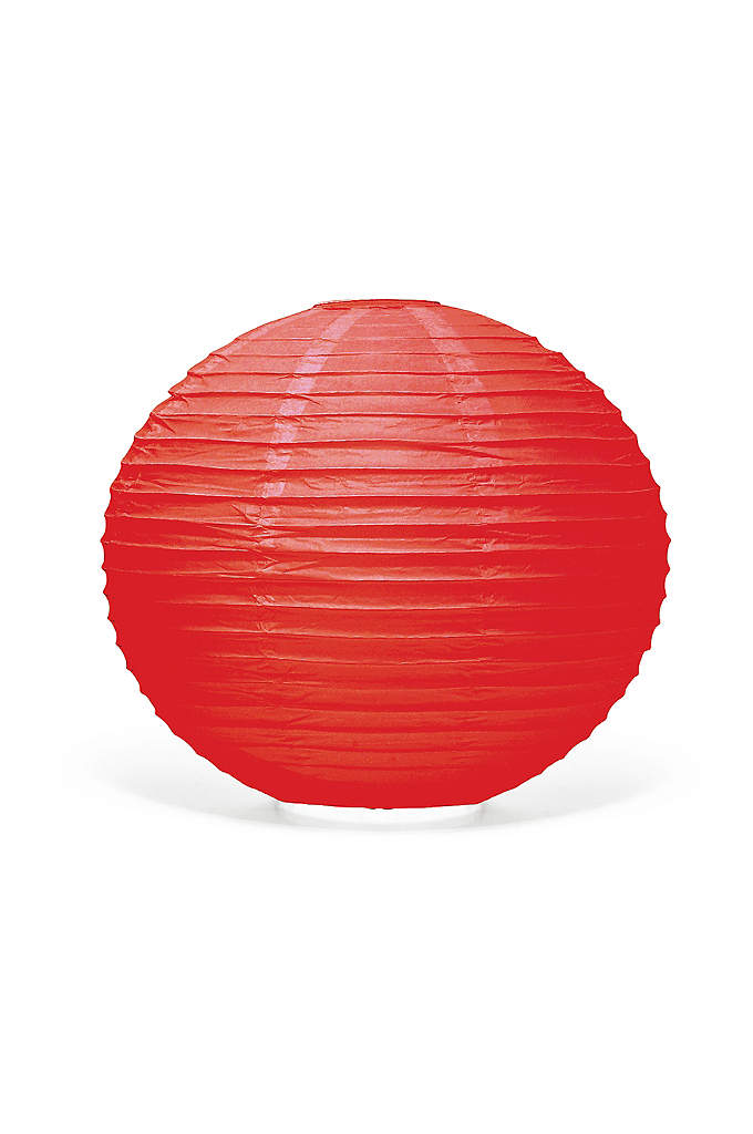 Round Paper Lanterns 12 Inch Diameter - These decorative paper lanterns add an incredible new