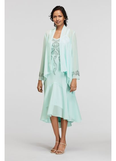 Tea Length A-Line Jacket Mother and Special Guest Dress - RM Richards