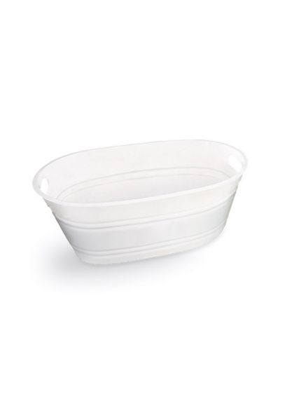 Oval Plastic Tub - Wedding Gifts & Decorations