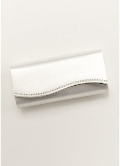 Dyeable Scallop Edge Clutch - Wedding Accessories