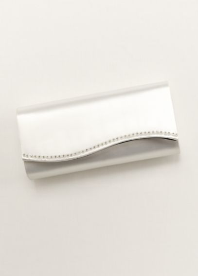 Dyeable Scallop Edge Clutch 91801