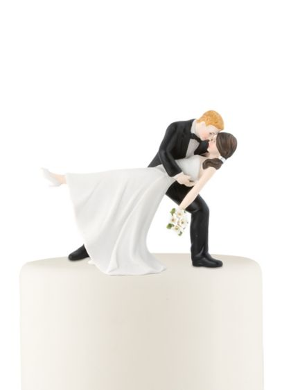 Personalized Dancing Bride and Groom Cake Topper - Wedding Gifts & Decorations