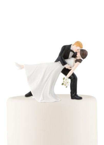 Personalized Dancing Bride and Groom Cake Topper 9209