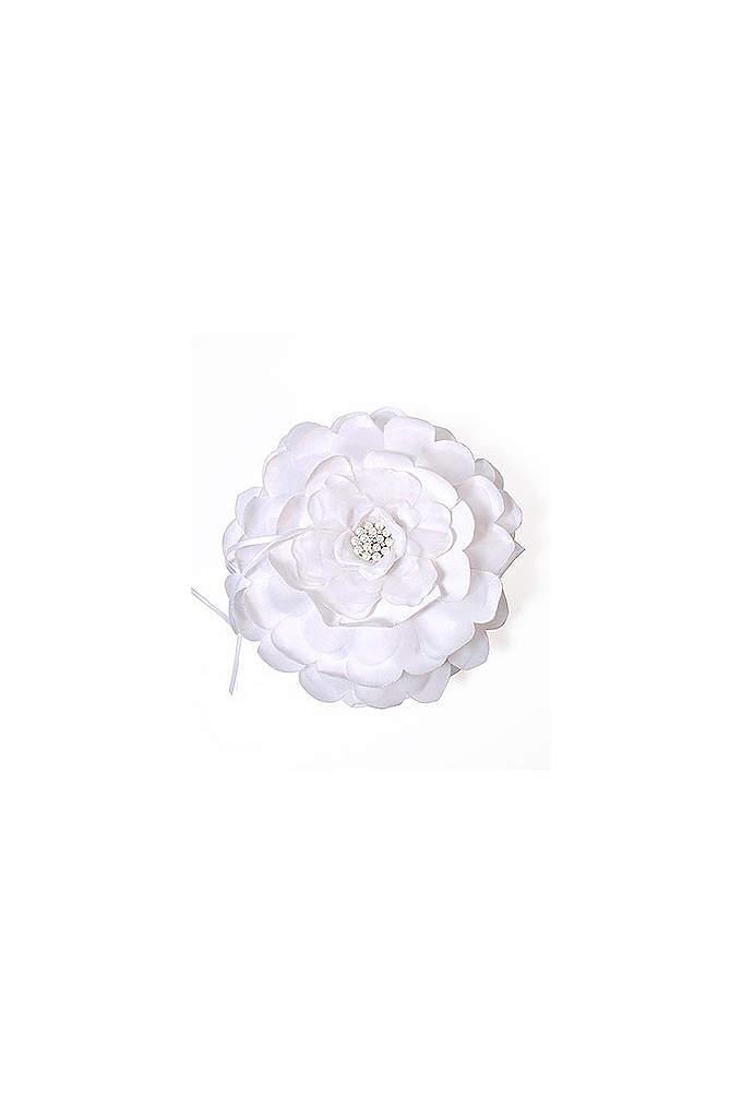 Sensational Floral Ring Bearer Pillow - The Sensational Floral Ring Bearer Pillow is a