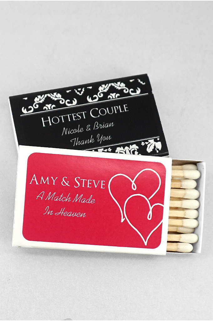DB Exclusive Personalized Match Box Pack of 50 -