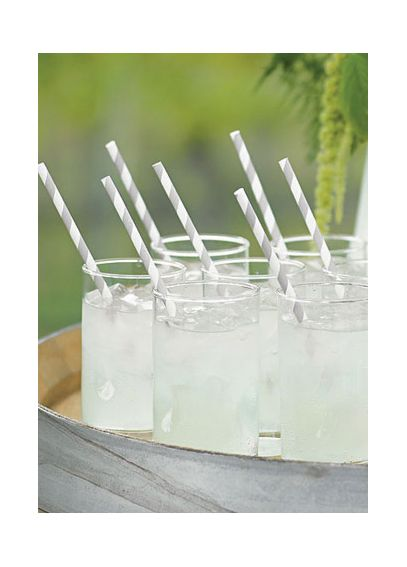 Sippers Candy Stripped Paper Straws Pack of 75 9339