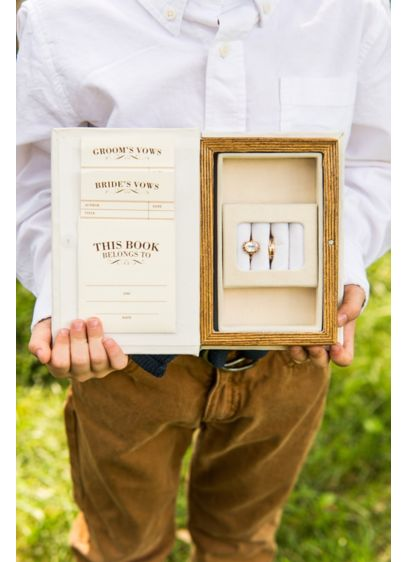 Vintage Inspired Jewelry Book Box - Wedding Gifts & Decorations