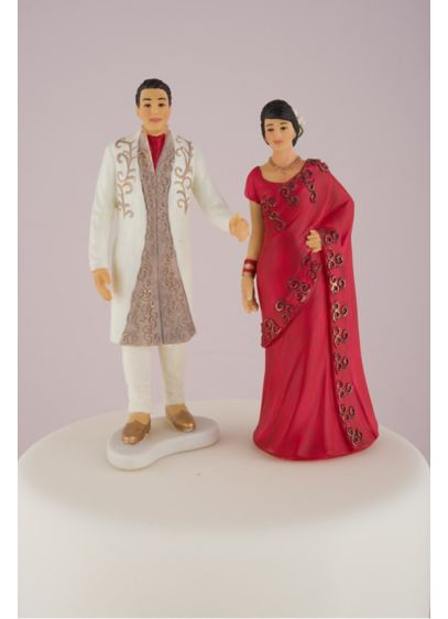 Traditional Indian Bride and Groom - Wedding Gifts & Decorations