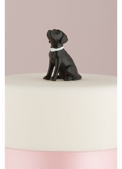 (Dog Figurine Cake Topper)
