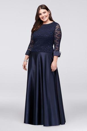 Plus two piece dress