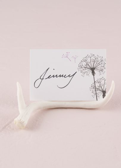 Mini Faux Antler Place Card Holder Set of 6 9498