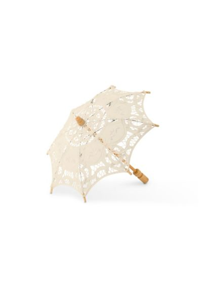 Antiqued Battenburg Lace Parasol 9533