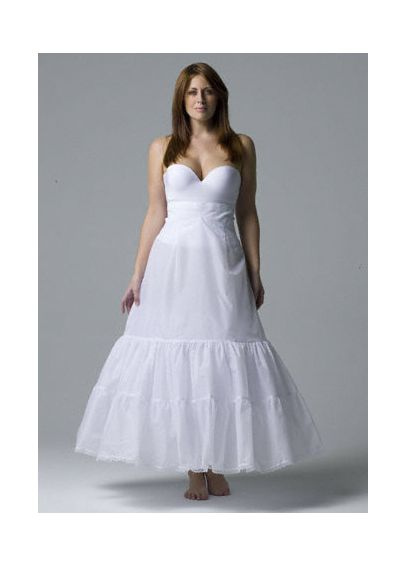 Plus size: A-Line Medium Fullness 2-Tier Slip 9603W