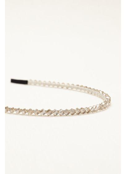 Beaded Hard Headband - Wedding Accessories