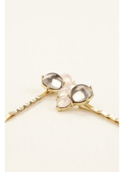 Set of Two Bauble Bobby Pins - Wedding Accessories