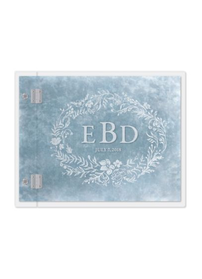 Personalized Modern Fairy Tale Etching Guest Book - Wedding Gifts & Decorations