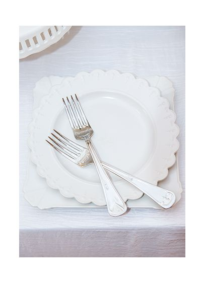 My One and Only Plate and Fork Wedding Cake Set - Wedding Gifts & Decorations